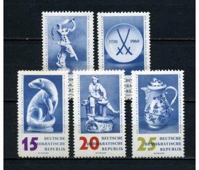 DDR ** 1960 PORSELEN TAM SERİ SÜPER (160515)