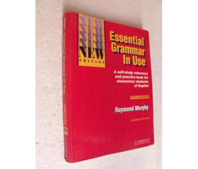 ESSENTIAL GRAMMAR IN USE Second Edition RAYMOND MU