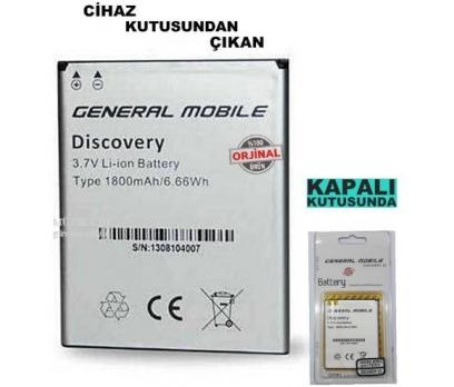 General Mobile Discovery 1 E3 %100 ORJİNAL BATARYA