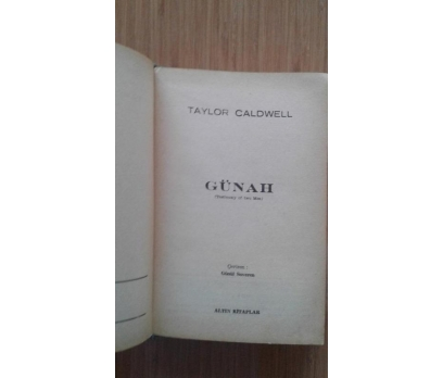 GÜNAH TAYLOR CALDWELL