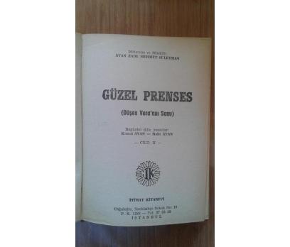 GÜZEL PRENSES CİLT-2 AVAN ZADE-MEHMET SÜLEYMAN