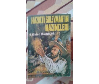 HAZRETİ SÜLEYMANIN HAZİNELERİ H. RİDER HAGGARD