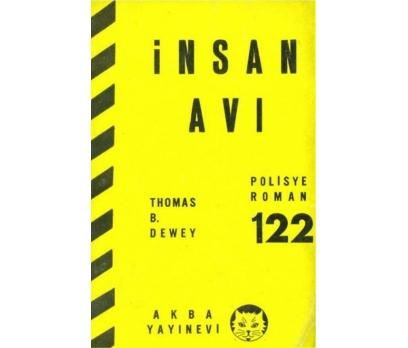İNSAN AVI (POLİSİYE ROMAN 122) THOMAS B. DEWEY