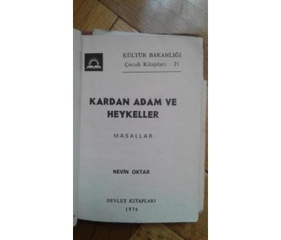 KARDAN ADAM VE HEYKELLER  NEVİN OKTAR 1