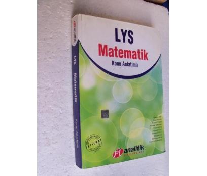 LYS MATEMATİK Konu Anlatımlı Pİ ANALİTİK YAY.
