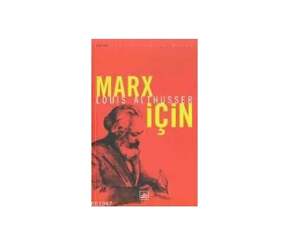 MARKS İÇİN LOUIS ALTHUSSER 1 2x