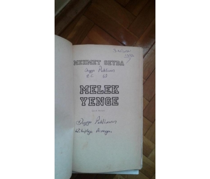MELEK YENGE MEHMET SEYDA
