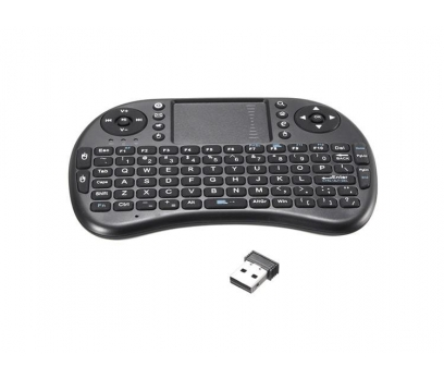 Mini Wireless Işıklı Klavye Ve Mouse Siyah
