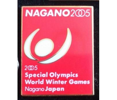 NAGANO/JAPONYA 2005 ÖZEL KIŞ OLİMP.OYUNLARI ROZETİ