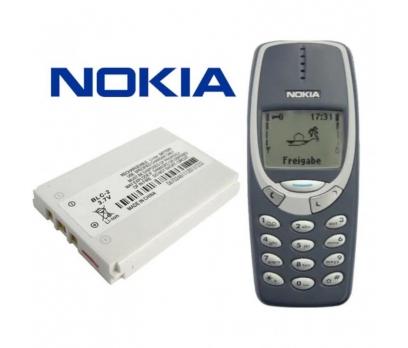 Nokia 3310 Batarya Pil BLC-2 Pil Batarya 3410 3315