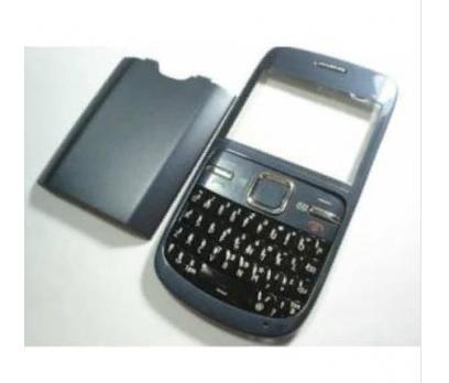 Nokia C3-00 Kapak+Tuş Takımı+Pil Kapağı Seti Full