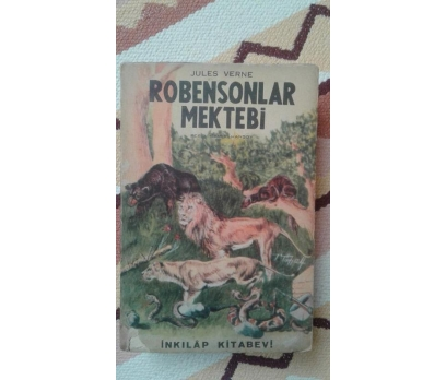 ROBENSONLAR MEKTEBİ JULES VERNE