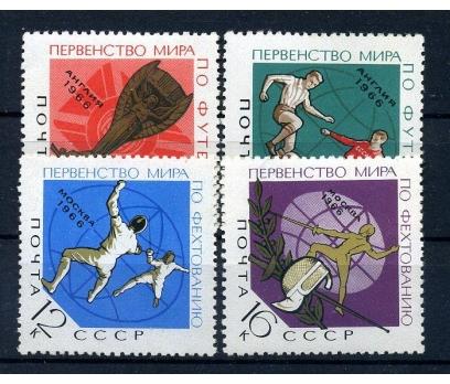 SSCB ** 1966 FUTBOL & 8.D.KUPASI TAM SERİ(131015)