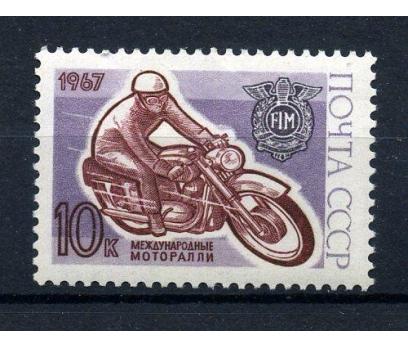 SSCB ** 1967 MOTOKROS ŞAMP. TAM SERİ (141015)