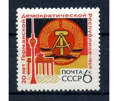 SSCB ** 1969 DOĞU ALMANYA 20.YIL TAM SERİ(171015)