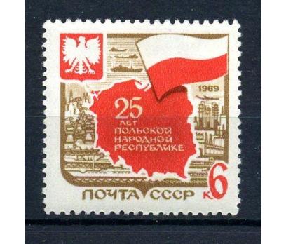 SSCB** 1969 POLONYA 25.YIL TAM SERİ (161015)