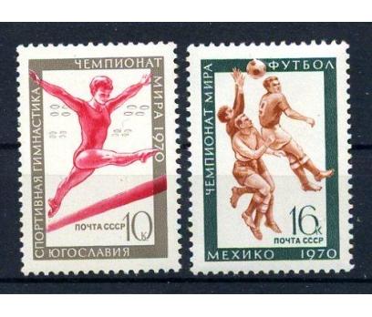 SSCB ** 1970 JİMNASTİK & FUTBOL TAM SERİ (171015)