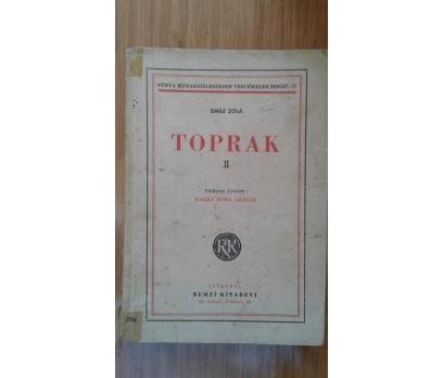 TOPRAK II   EMİLE ZOLA