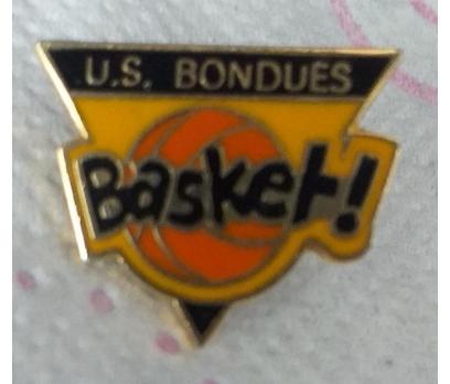 U.S. BONDUES BASKET KULÜBÜ (FRANSA) ROZET.