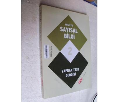 YGS LYS SAYISAL BİLGİ 2 YAPRAK TEST DERGİSİ Sıfır