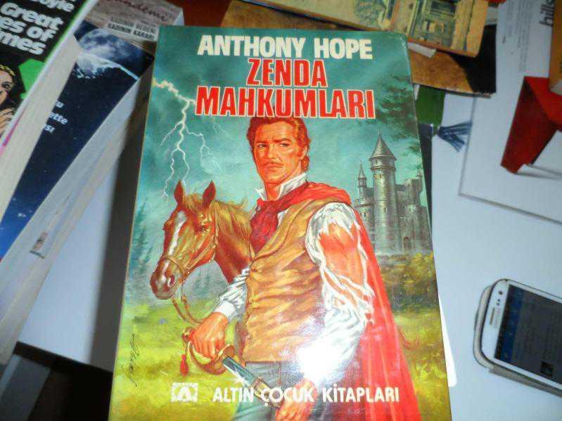 ZENDA MAHKUMLARI ANTHONY HOPE 1