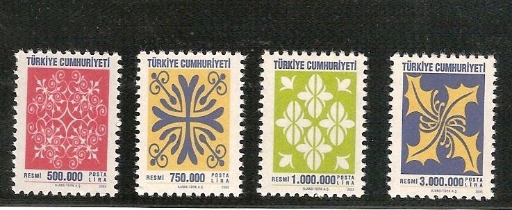 2003 RESMİ TAM SERİ (MNH) 1