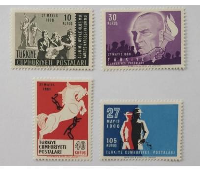 1960 27 MAYIS İNKİLABI TAM SERİ (MNH)