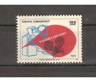 1972 KANSERE KARŞI SAVAŞ TAM SERİ (MNH)