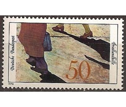 ALMANYA (BATI) 1978 DAMGASIZ MÜLTECİLERE YARDIM SE