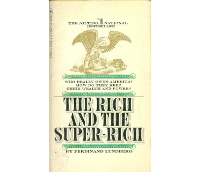 FERDINAND LUNDBERG THE RICH AND THE SUPERRICH 1969