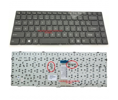 Grundig JW6 Klavye Siyah TR Q Dizüstü Keyboard