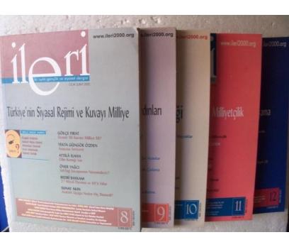 İLERİ 3 AYLIK ATATÜRKÇÜ FİKİR DERGİSİ 2002 Yılı