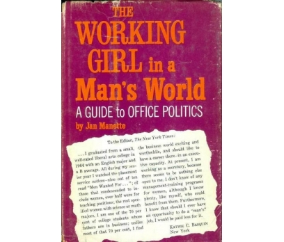 JAN MANETTE THE WORKING GIRL IN A MANS WORLD A GUI