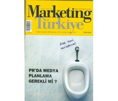 MARKETING TÜRKİYE SAYI 157 1 EKİM 2008 PR DA MEDYA