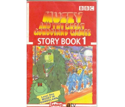 MUZZY AND THE GREAT GONDOLAND GAMES STORY BOOK 1