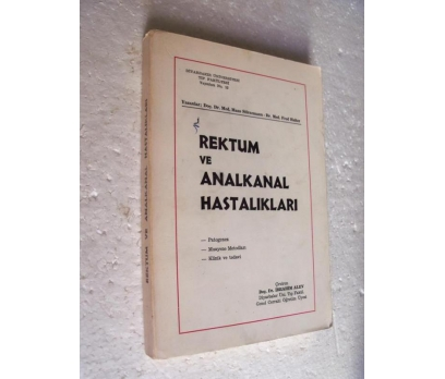 REKTUM VE ANALKANAL HASTALIKLARI Stirnemann - Halt