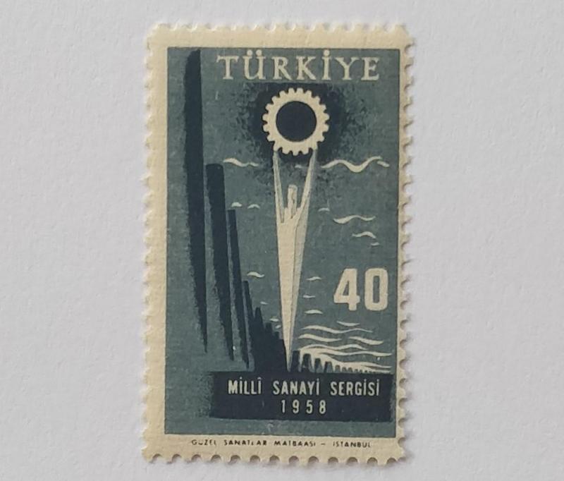 1958  T. MİLLİ SANAYİ SERGİSİ TAM SERİ (MNH) 1