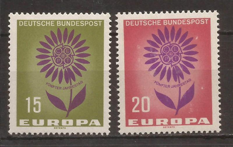 1964 Almanya Europa Cept Damgasız** 1