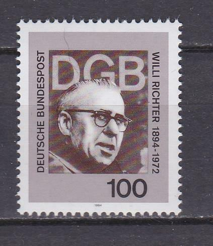 1994 Almanya Willi Richter Damgasız** 1