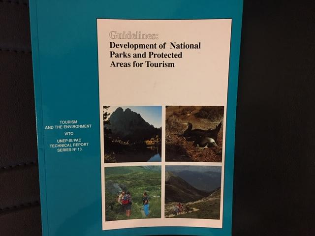 GUIDELINES DEVELOPMENT OF NATIONAL PARKS AND PROTE 1