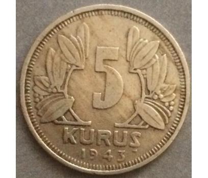 1943 5 Kuruş