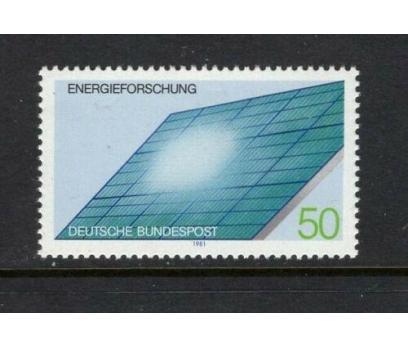 1981 Almanya Enerji Damgasız**