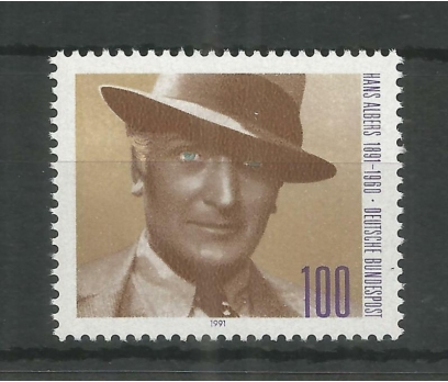 1991 Almanya Hans Albers Damgasız**
