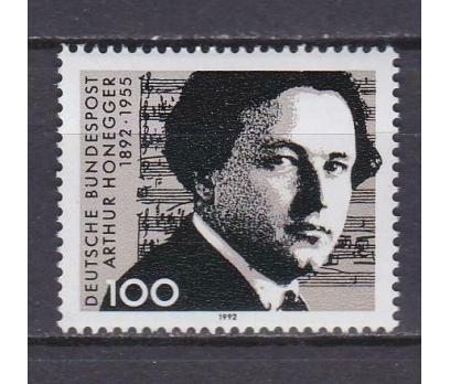 1992 Almanya Arthur Honneger Damgasız** 1
