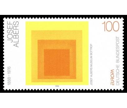 1993 Almanya Josef Albers Damgasız** 1
