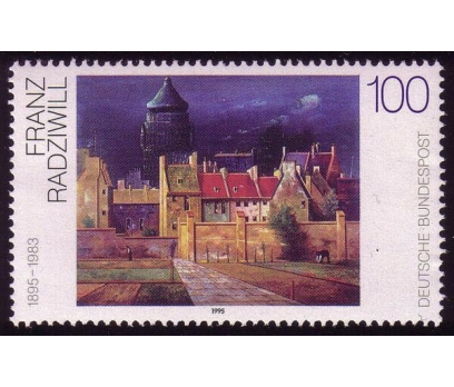 1997 Almanya Franz Radziwill Damgasız**