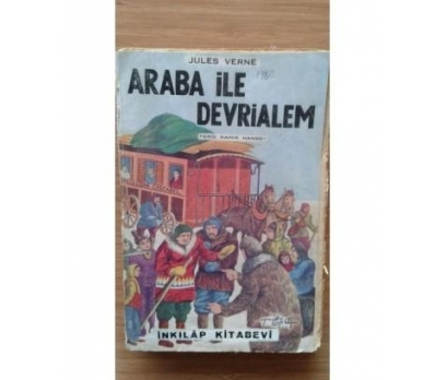 ARABA İLE DEVRİALEM Jules Verne