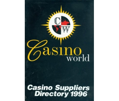 CASINO SUPPLIERS DIRECTORY 1996 CASINO WORLD 1