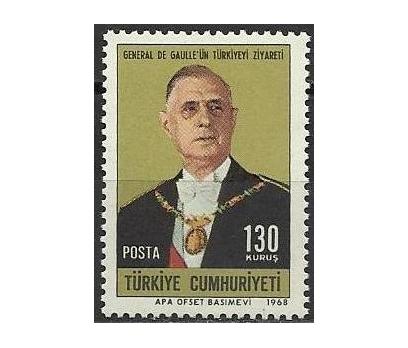 DAMGASIZ 1968 GENERAL DE GAULLE SERİSİ