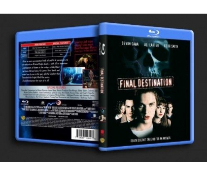 Final Destination 1 Blu-ray